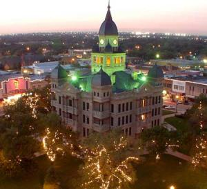 Historic Denton County Courthouse
