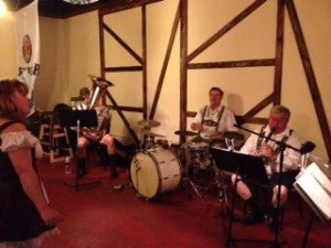 Ron and the Finklesteiners playing Gerhard's German Restaurant