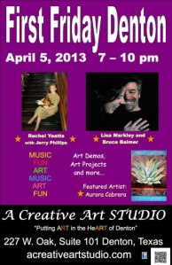 First Friday April 2013