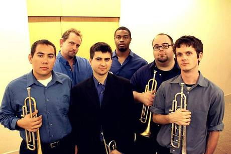 Tyler Mire Big Band came together in 2012 and releases its first album in June. Mire, pictured in the center with his core ensemble. The band plays Sweetwater Grill & Tavern on Sunday night.