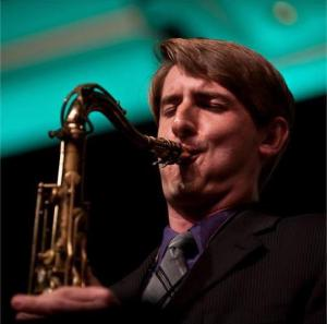 Brian Clancy playing at Jazz Education Network 2013 Conference.