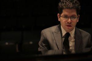 Jazz pianist Michael Palma