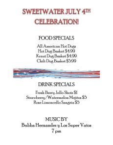 Sweetwater July4