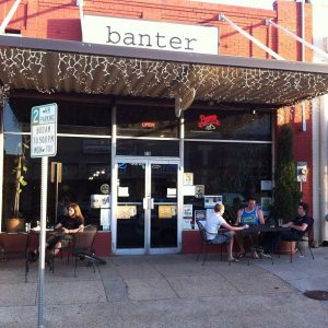 Banter Bistro, 219 W. Oak St., First Tuesday, First Friday - good music, libations, food and freinds.