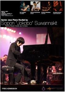 Sobon Senior Recital poster