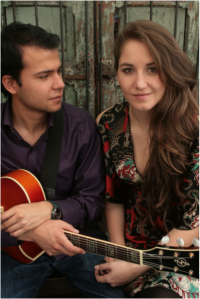 Laura Otero and Daniel Panilla