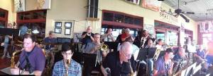 The Official Texas Jazz Orchestra, under the direction of Jim Riggs plays Sweetwater Grill & Tavern.