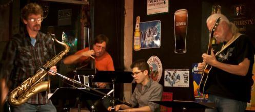 Jazz at Banter Bistro.