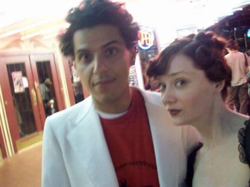 Robert Gomez, left and Kristy Kruger.