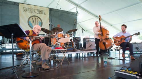 The Jim Hall Trio with Julian Lage performs at the 2013 Newport