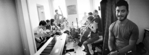 Mother Falcon chamber-music Big Ensemble.
