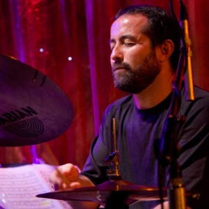 Drummer and composer Rodrigo Villanueva