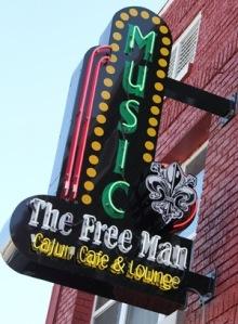 FreeMan signage