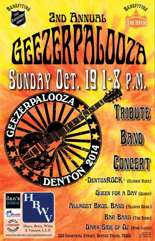 Geezerpalooza poster