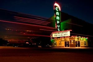 Campus Theater in Denton, Texas. 2011.