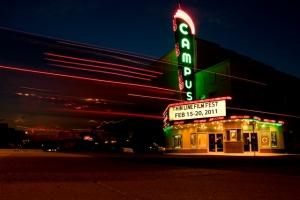 Campus Theater in Denton, Texas. 2011.