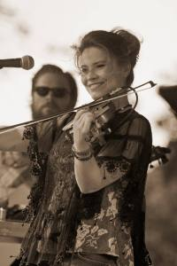 Bonnie and Nick Norris at the Denton Arts & Jazz Fest. Tammi Paul Photography