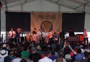 Snarky Puppy, Newport Jazz Festival 2014 Ken Franckling