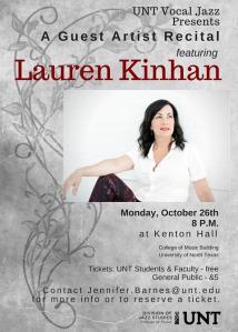 LaurenKinhan poster